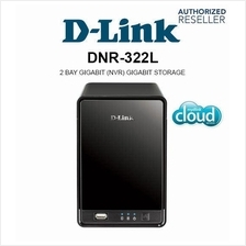 D-Link DNR-322L NVR Video Recorder Enclosure 2-BAYS