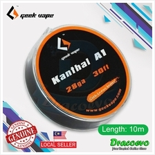 Authentic GeekVape 10m Atomizer DIY Kanthal A1 Tape Wire (28GA)
