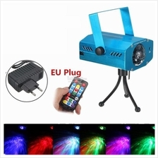 3W RGB LED Laser Light Water Wave Effect Projector Stage Light Disco