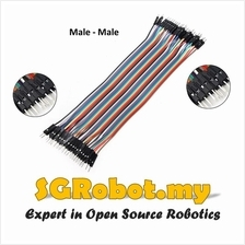 Arduino 40p Breadboard Dupont Jumper Wire Male to Male ( MM ) ( 20cm )