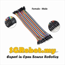 Arduino 40p Breadboard Dupont Jumper Wire Female to Male (FM )( 20cm )