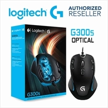 Logitech G300s Optical Wired Gaming Mouse 2500 dpi USB Compatible