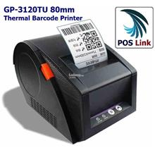 POS System - GP-3120TU   Barcode Label Thermal Printer 80mm