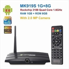 ★ 8GB Quad Core Android TV Box With Camera (AT-04)
