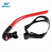 WHALE DIVING SWIMMING TUBE CENTER SNORKEL (RED)