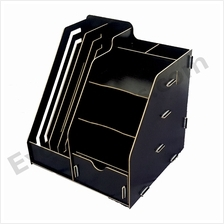 Office DIY Table Top Organiser / Multipurpose Desk Organizer -Black