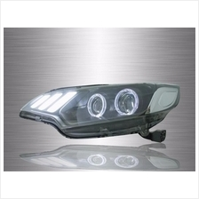 HONDA JAZZ GK 2014 - 2017 Mustang Style LED Double Projector Head Lamp