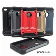 Apple iPhone 4 4s 5 5s 7 Plus Spigen Tough Armor Tech Case