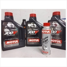 Motul 300V Double Ester Engine Oil Chrono Power Competition Fully 2L