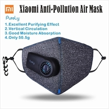 XIAOMI Mi PURELY Air Mask - Anti-Pollution PM2.5 Mini Fan Face MSensor