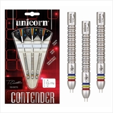 UNICORN DARTS - CONTENDER TUNGSTEN - STEEL TIP - TED EVETTS 23G [NEW]