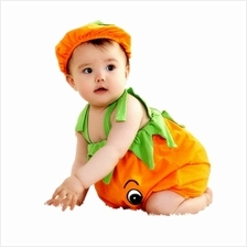 Baby Pumpkin Romper Halloween Persimmon Jumper Studio Prop Toddler Costumes Se)