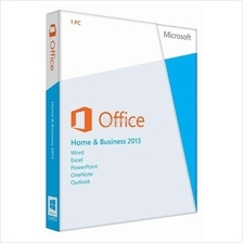 MICROSOFT OFFICE HOME & BUSINESS 2013 RETAIL