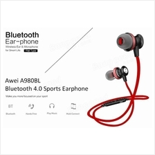 Awei A980BL Bluetooth 4.0 Wireless Sports Earphones with Handsfree