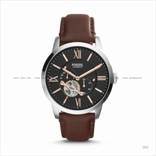 FOSSIL ME3061 Men's Townsman Automatic Leather Strap Brown