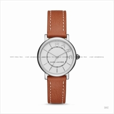MARC BY MARC JACOBS MJ1572 Classic Small 3-hand Leather Strap Tan