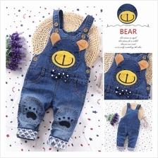[KC 007] Kid Kids Boy Girl Son Daughter Child Clothing Cloth Jeans Suspender