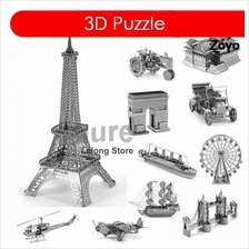 Zoyo 3D Nano Metal Puzzle Laser Cut Model Building DIY