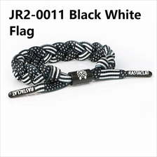 RASTACLAT SLOELACE BRACELET wristbands wrist band jewelry bangle black