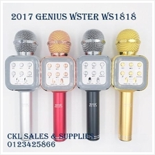 Genius Wster WS1816 WS1818 Ws858 Mic KTV Wireless Bluetooth Microphone