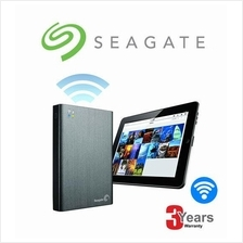 Seagate HDD 1TB / 2TB Wireless Plus Mobile Storage Portable Hard Drive