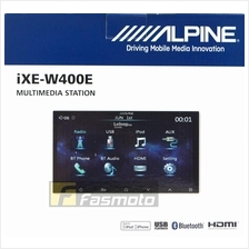 Alpine IXE-W400E 7 inch Double DIN HDMI USB Multimedia Receiver No DVD