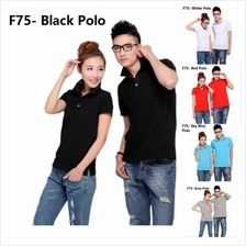 Korean plain Polo cloth clothing baju kurung melayu guy men t shirt