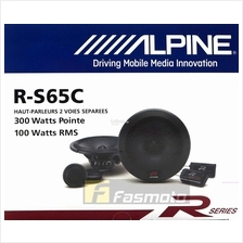 Alpine R-S65C R-Series 6.5 inch Component Car Speakers System 100W RMS