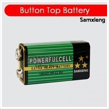 SAMXIENG 9V Ni-MH 16044D 6F22 Button Top Extra Heavy Duty Battery