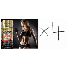 4 Units Hydroxycut Rapid Release+Green Cofee (burn fat+energy+stamina)