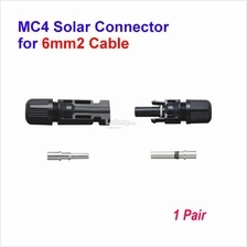 SOLARMO MC4 Solar Connector for 6mm2 Cable - Pair