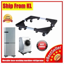 Movable Washing Machine base Fridge  Stand Holder Refrigerator Trolley
