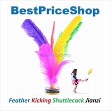 Feather Kicking Shuttlecock Jianzi Foot Sports Game Kick Kids Fit Toy