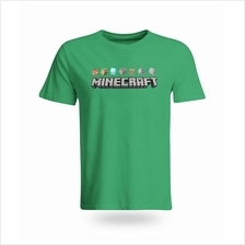 Minecraft Blocks Cotton T-Shirt