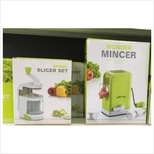 2 set mincer and slicer (Kitchen and Dapur Set) rm130