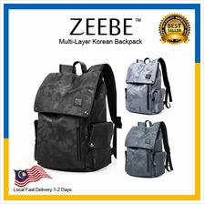 ZEEBE Authentics Korean Multi-Layer Multifunctional Backpack KK2209