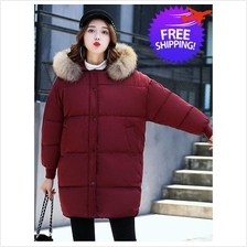Plus Size for Women Lady Hooded Autumn Winter Jacket Coat)