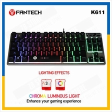 Fantech Fighter K611 USB LED Lighting Metal USB Gaming Keyboard