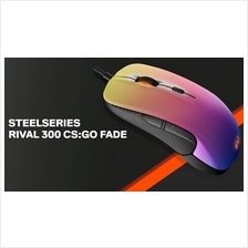 # SteelSeries RIVAL 300 - CS:GO Fade Edition Optical Mouse #