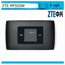 (USED) ZTE MF920 MF920W 4G 150Mbps MIFI Portable Hotspot LCD display