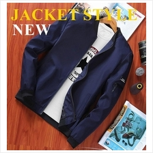 Windbreaker Jacket Only Style Water Resistant Casual Blazer Sportswear)