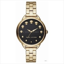MARC BY MARC JACOBS MJ3494 Betty 3-hand Dome Index Bracelet Black Gold