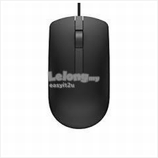 DELL WIRED OPTICAL MOUSE (BLACK)  (MS-116)