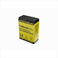 Nitecore 1180mAh 3.7V Rechargeable Li-ion Battery for GoPro HERO 3