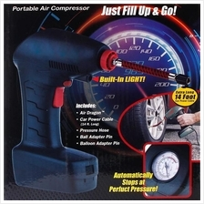 Air Dragon Portable Air Compressor Tire Inflator Emergency Car Pump