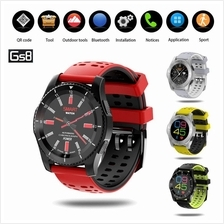GS8 Heart Rate Blood Pressure Monitor Bluetooth Sim Card Smart Watch