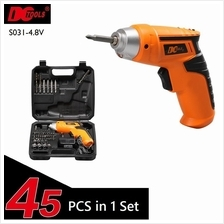 45 Pcs in 1 DCTOOLS S031 Rechargeable Cordless Electric Drill Tools