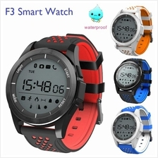 F3 Waterproof IP68 Bluetooth Sport Activity Tracker Smart Watch