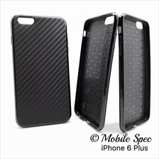 Apple iPhone 4 4s 5 5s SE 6 6s 7 Plus Matte Carbon Design TPU Case
