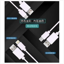 MICROUSB/ LIGHTNING/ Type C MIZOO Quick Charge & Data 1M Cable